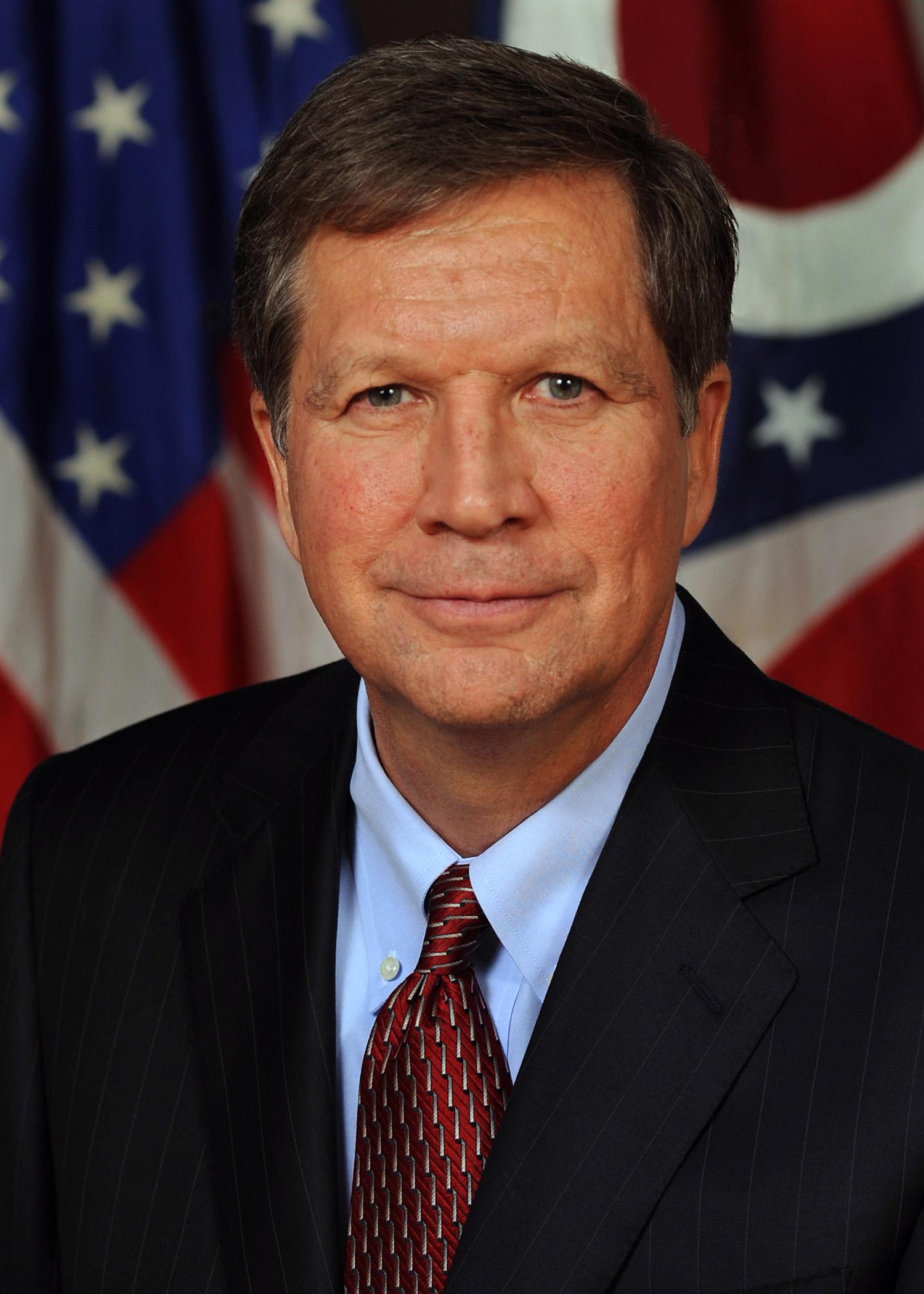 John Kasich, guvernör Ohio. Ställer upp.