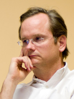 Lawrence Lessig, professor och aktivist med fokus på korruption