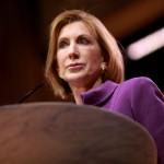 Carly Fiorina, fd företagsledare Ställer upp