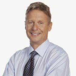 Gary Johnson, fd guvernör New Mexico. Vann nomineringen på Libertarian Partys konvent.