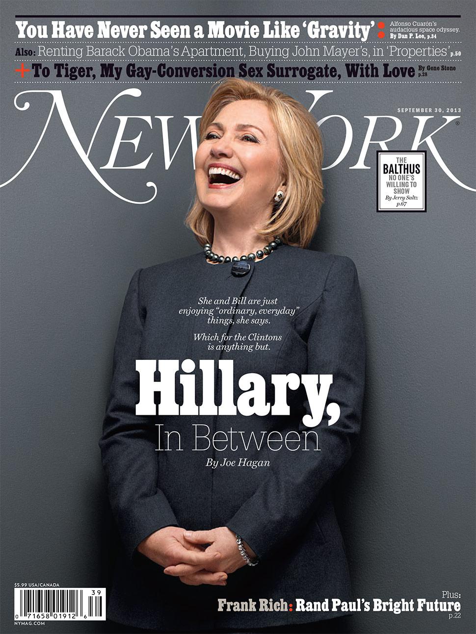 Hillary Clinton om presidentvalet 2016