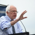 Bernie Sanders oberoende senator Vermont. Ställer upp