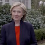 Hillary Clinton, fd utrikesminister, fd first lady och fd senator New York. Demokraternas presidentkandidat.
