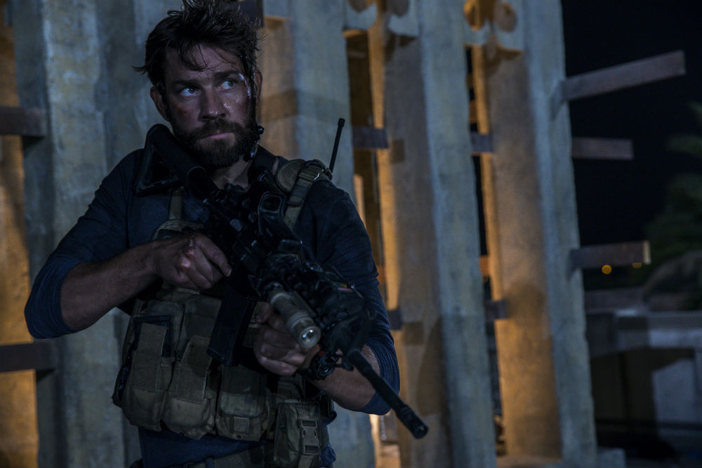 13 Hours: The Secret Soldiers of Benghazi  John Krasinski plays Jack Silva in 13 Hours: The Secret Soldiers of Benghazi from Paramount Pictures and 3 Arts Entertainment / Bay Films