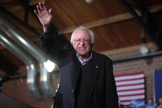 Bernie Sanders på kampanjmöte i Iowa. Foto:  Gage Skidmore CC BY 2.0