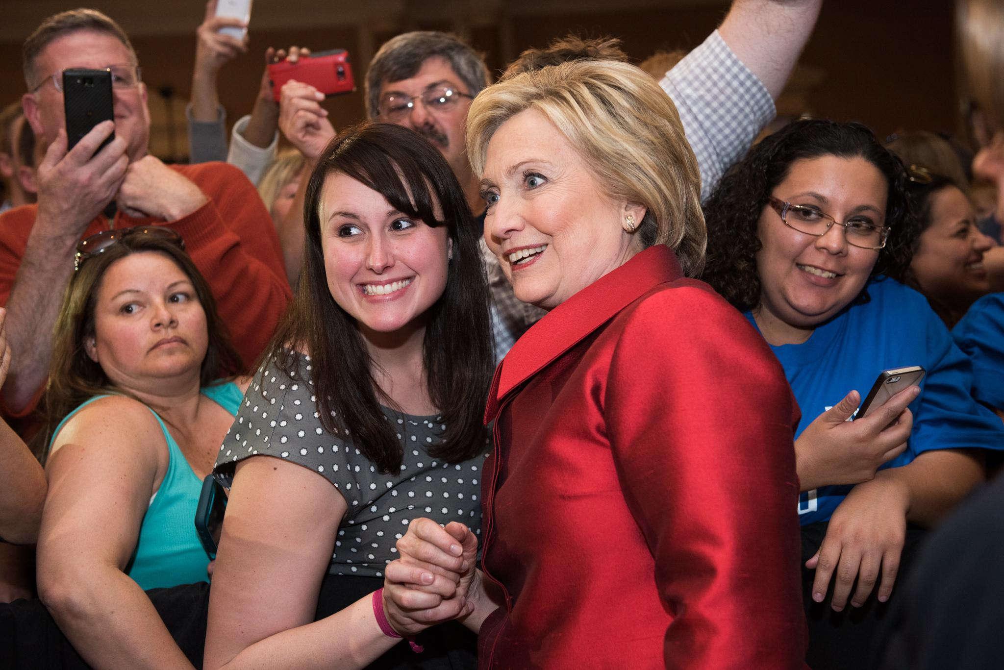 Hillary Clinton väntas vinna South Carolina stort. Foto: Hillary for America CC BY-NC-SA 2.0