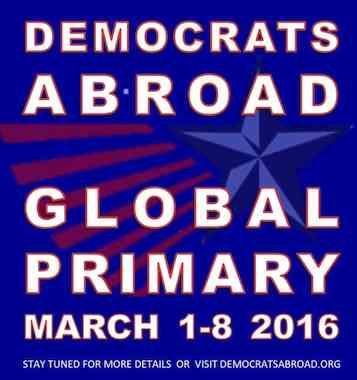 Bernie går mot vinst i Sverige och i primärvalet för utlandsrösterna