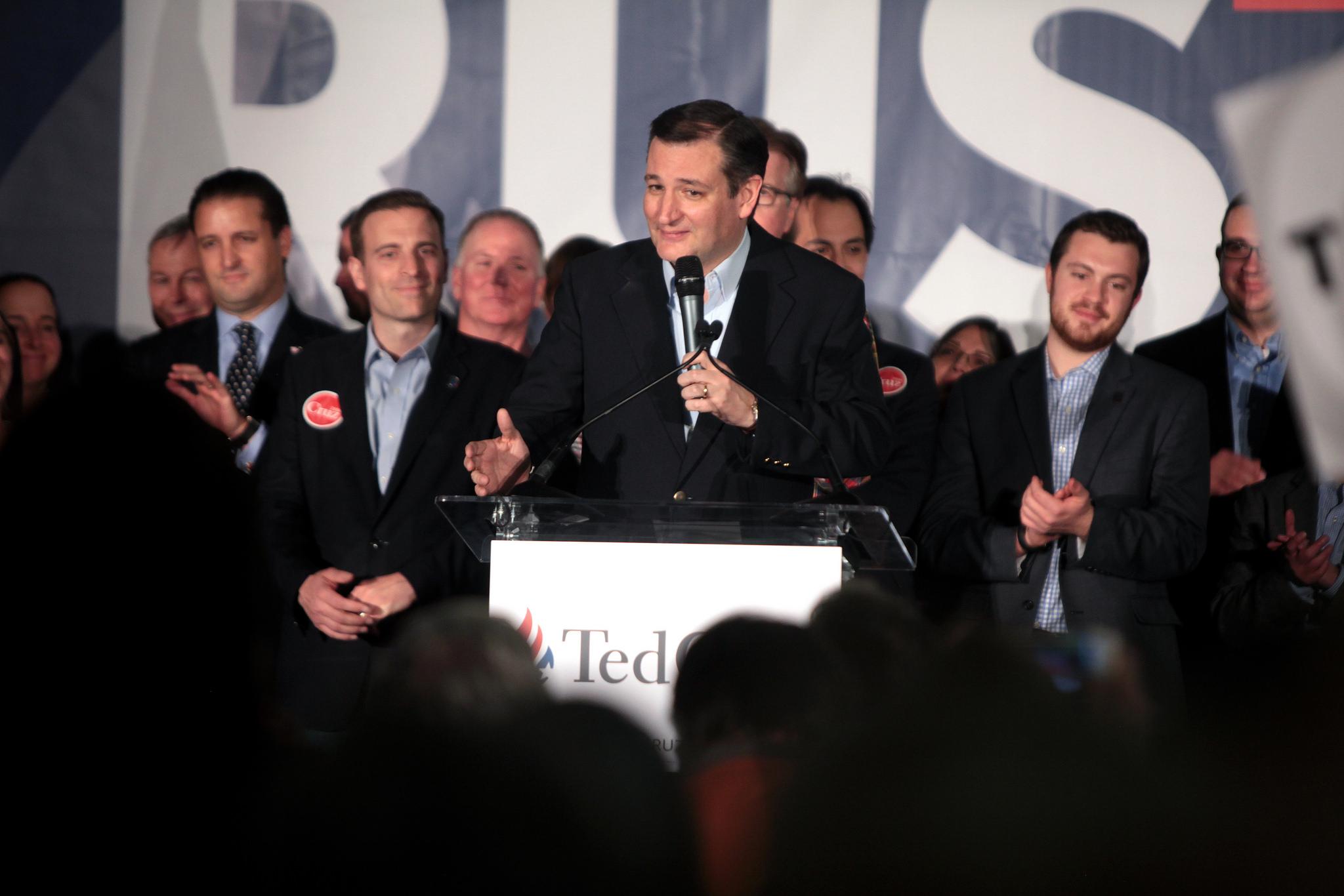 Ted Cruz på valmöte i Nevada. (Foto: Gage Skidmore CC BY-SA 2.0)