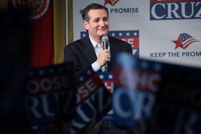 Ted Cruz på valmöte. (Foto: Gage Skidmore CC BY-SA 2.0)
