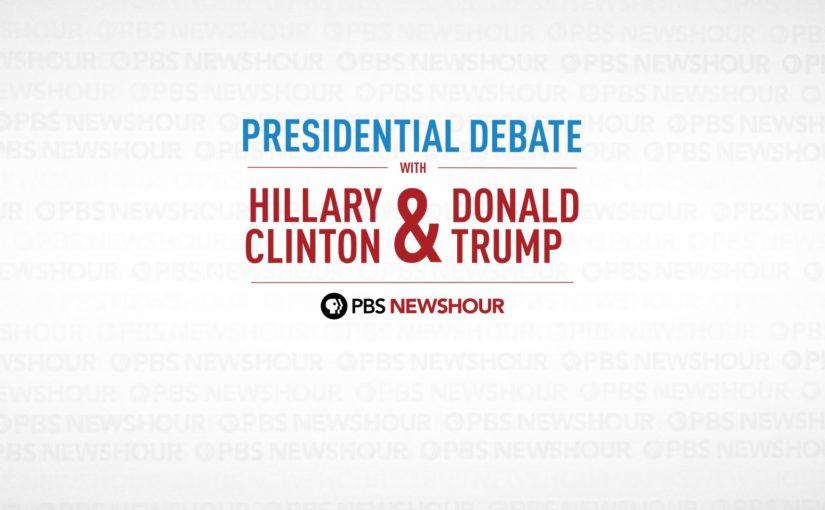 Video: Hela första debatten mellan Clinton och Trump