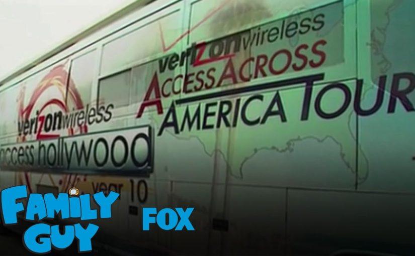 Family Guy skojar med Trump på bussen