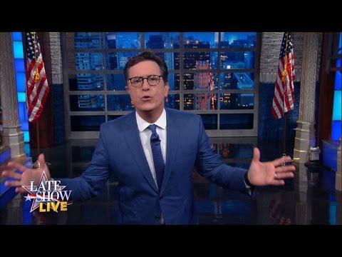 Stephen Colbert om tredje debatten