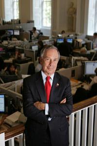 Första indikationen på att Bloomberg vill ställa upp i presidentvalet 2020