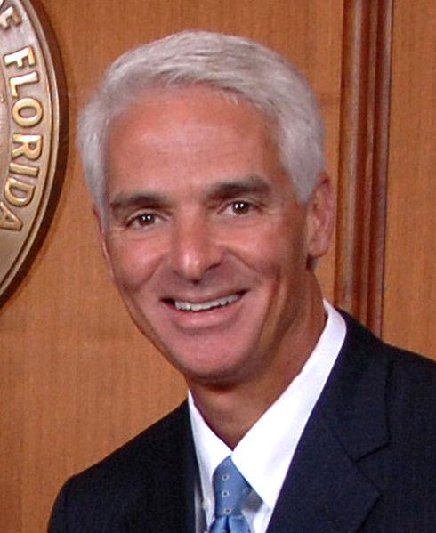 Republikansk fd guvernör i Florida ger sitt stöd till Obama