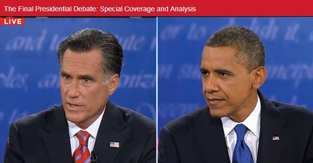 Obama på offensiven i sista debatten