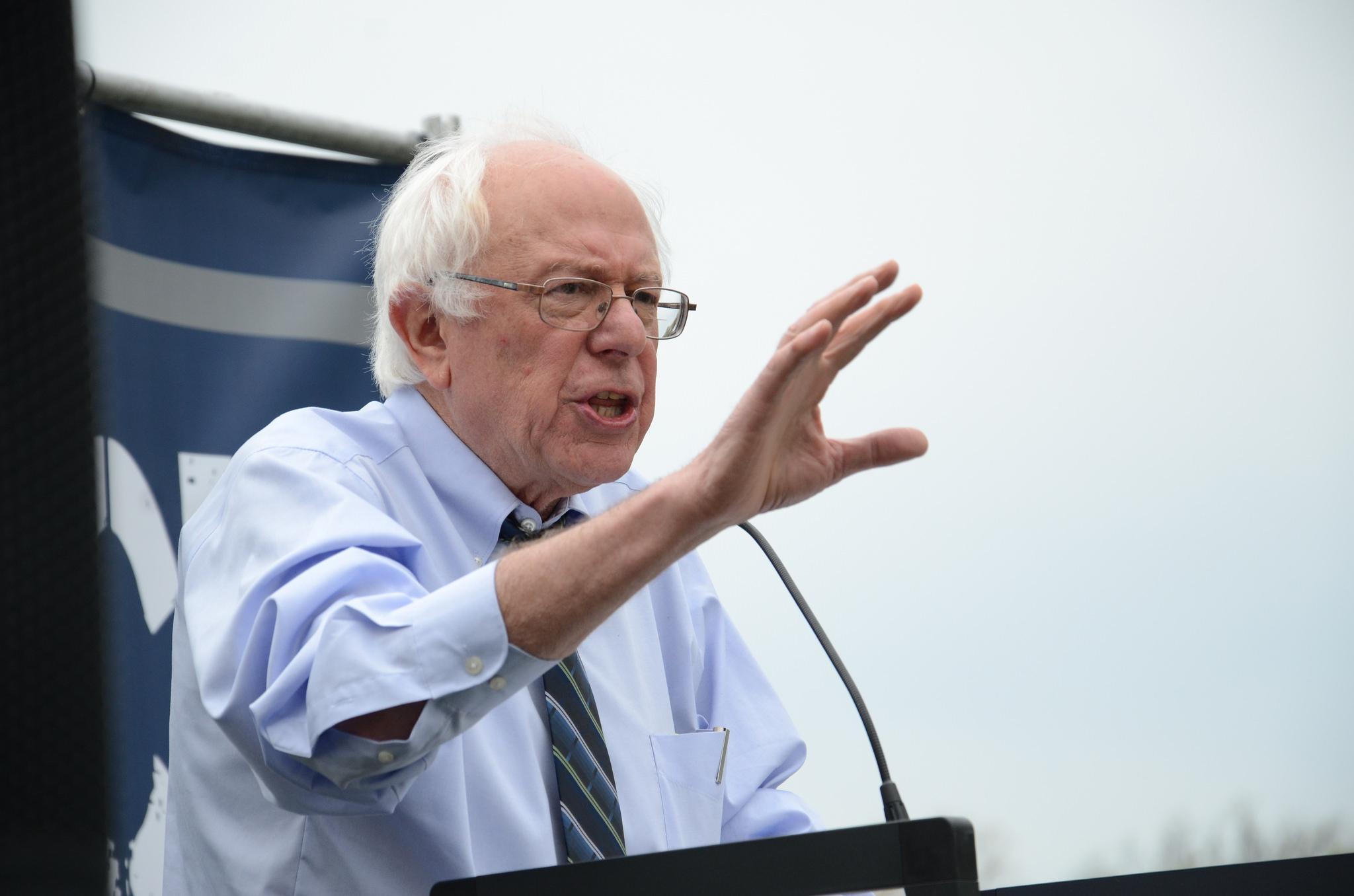 Bernie Sanders ställer upp i presidentvalet