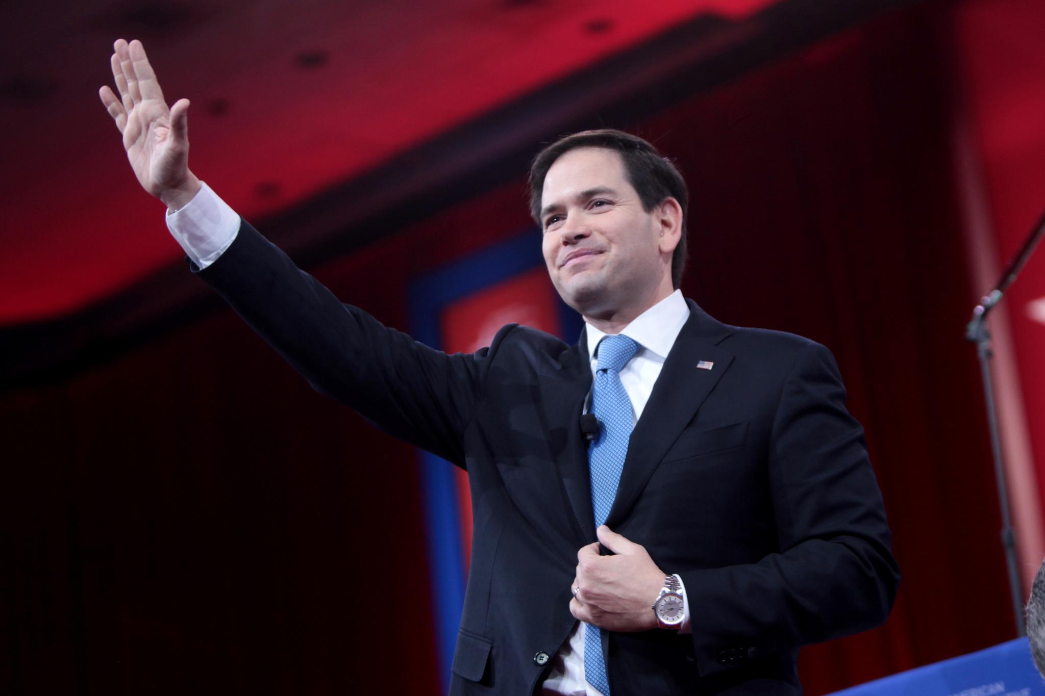 Rubio: Jag tänker inte låta en bedragare ta över Reagans parti