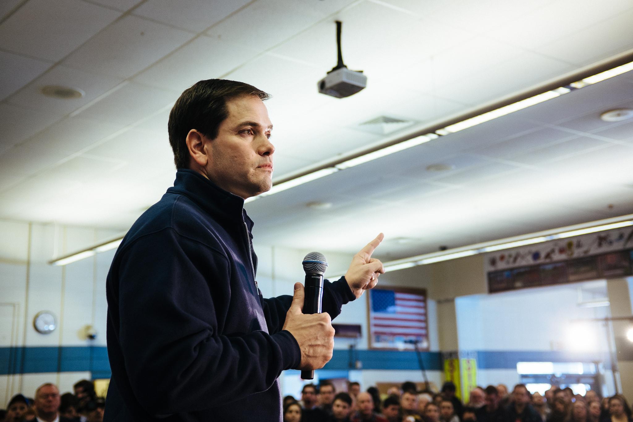 Det pekar uppåt för Rubio. Foto:  Jamelle Bouie CC BY 2.0