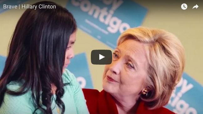 Hillary och barnen