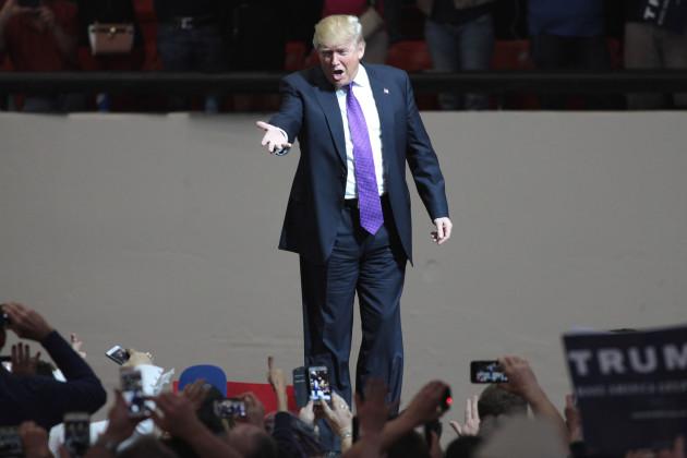 Donald Trump på kampanjmöte i Las Vegas, Nevada. (Foto: Gage Skidmore CC BY-SA 2.0)