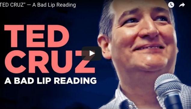 Ted Cruz: A bad lip reading