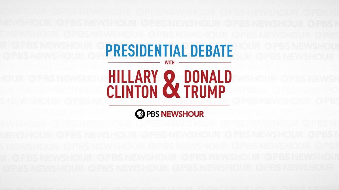 Se hela debatt 2 mellan Clinton och Trump