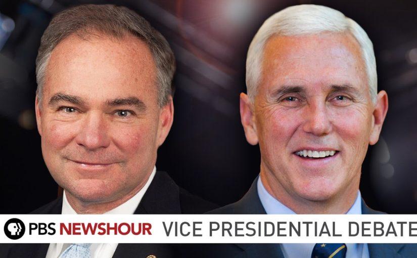 Se hela debatten mellan Pence och Kaine