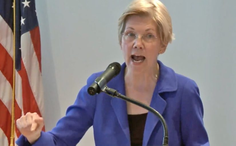Elizabeth Warren snubblar ut som kandidat