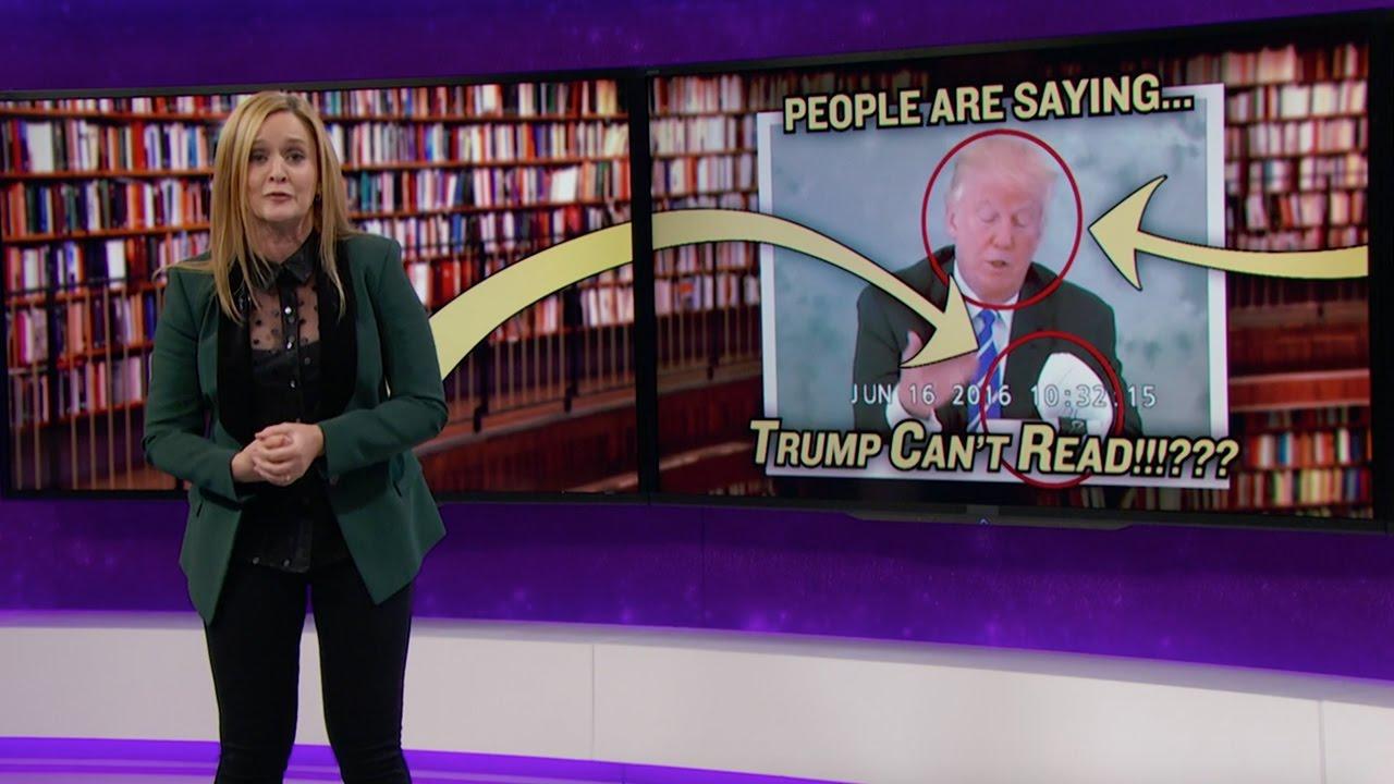 Kan Trump läsa?