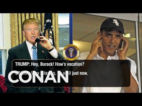 Obama och Trump håller kontakten