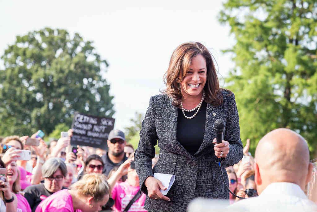 Kamala Harris får hjälp inför presidentvalet 2020 av Kalifornien