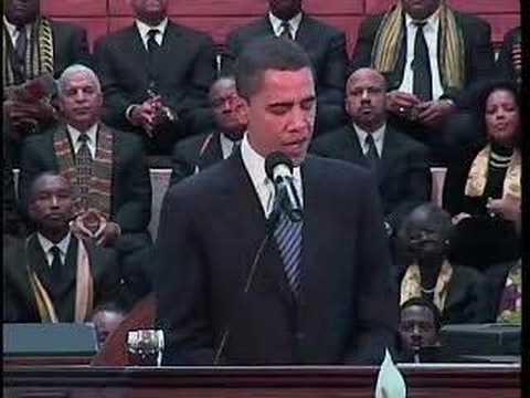 Bill Clinton nickar till under Martin Luther King presentation