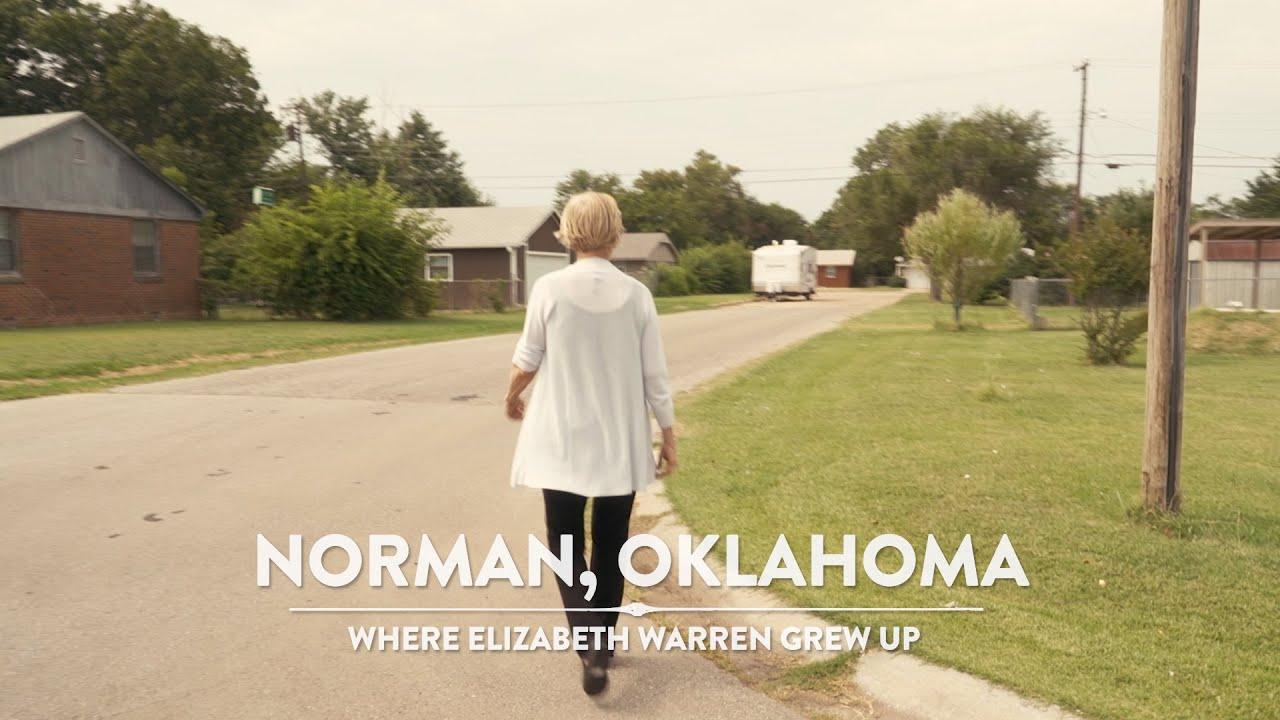 Elizabeth Warren gör ett DNA-test