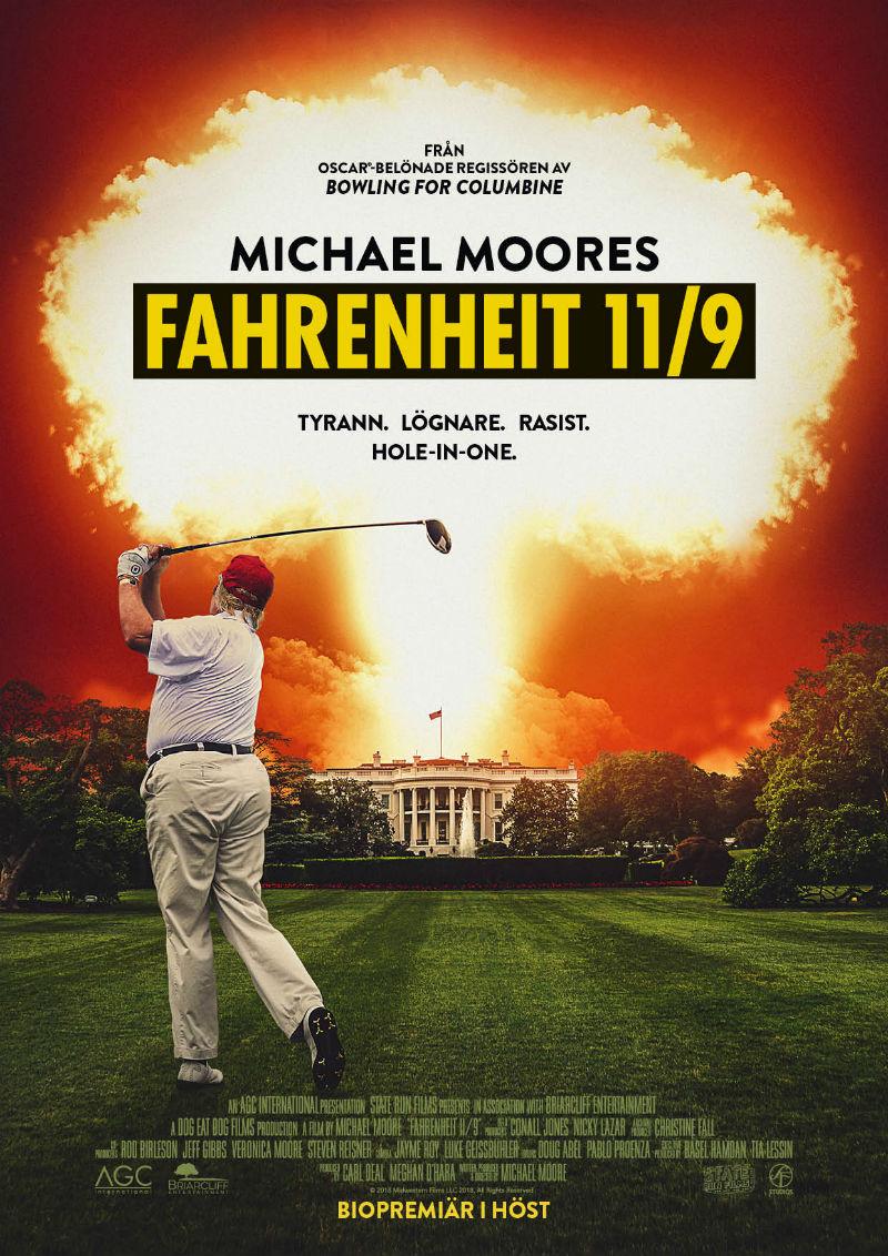 Michael Moore är tillbaka med film om Donald Trump