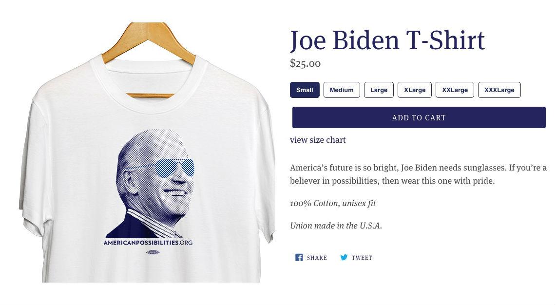 Fördel Biden?