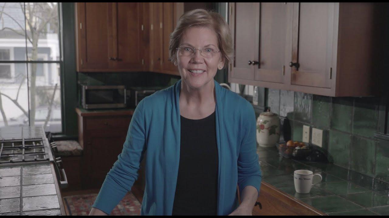 Warren hoppar av