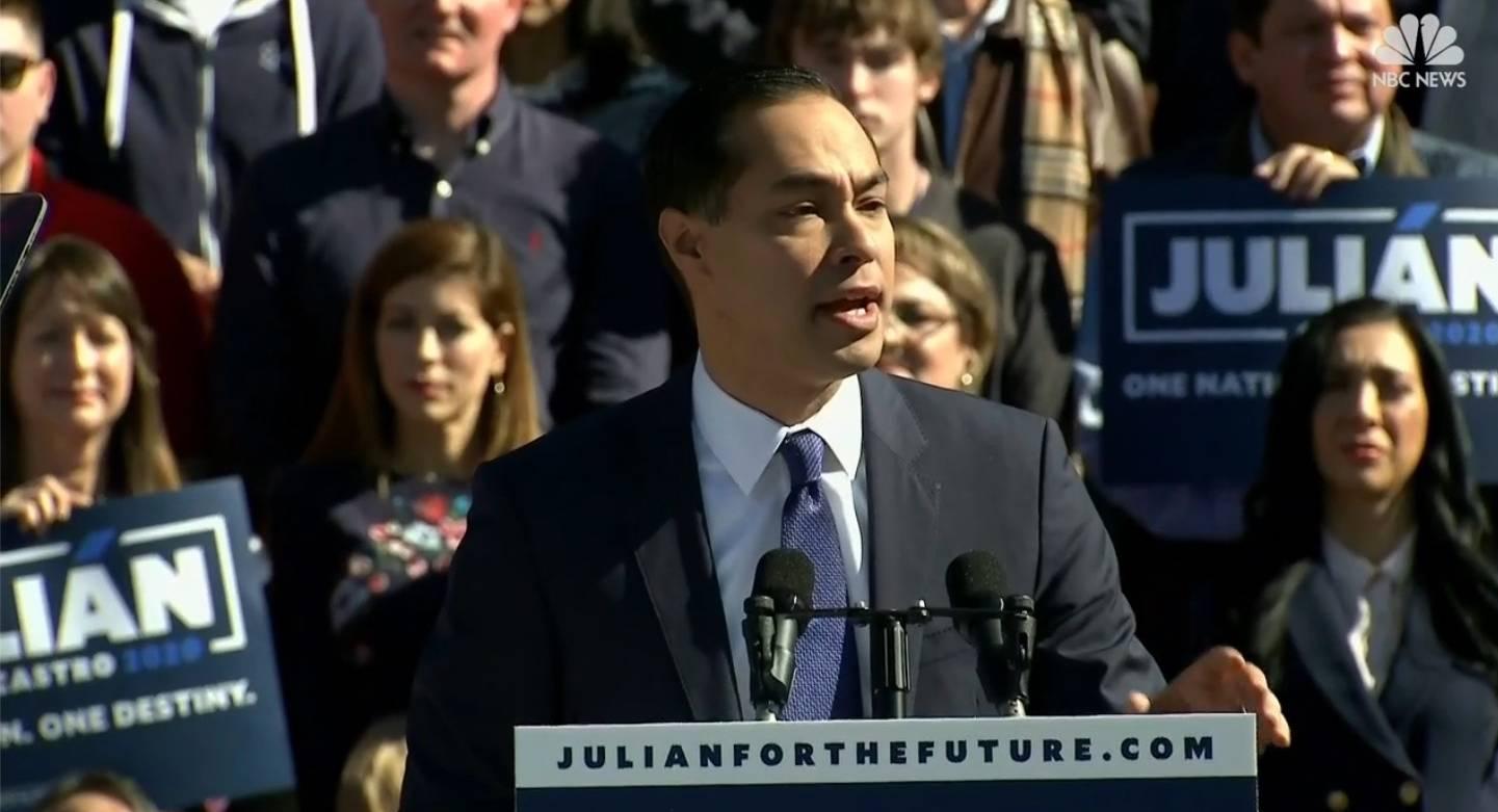 Julian Castro hoppar av