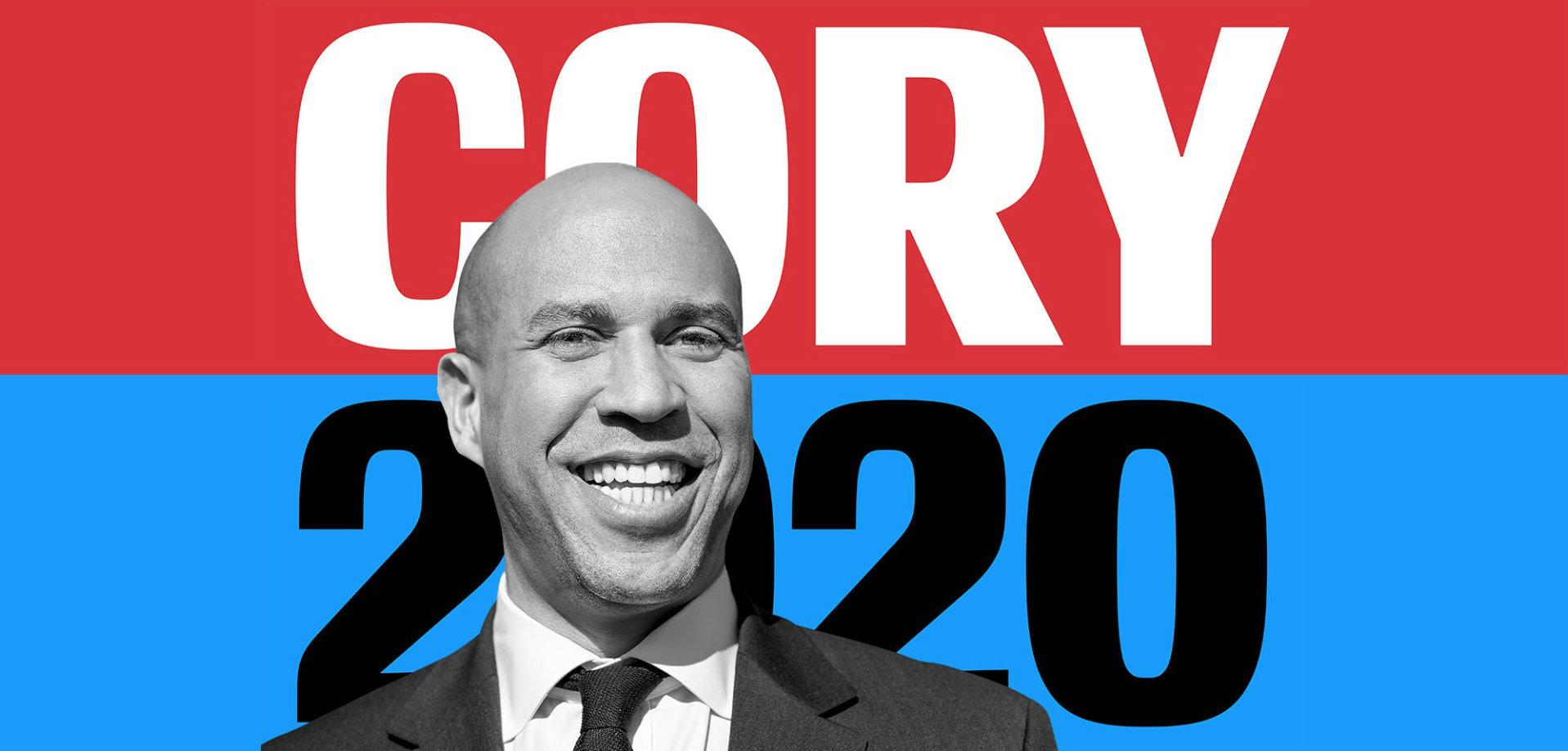 Cory Booker lanserar presidentkampanj
