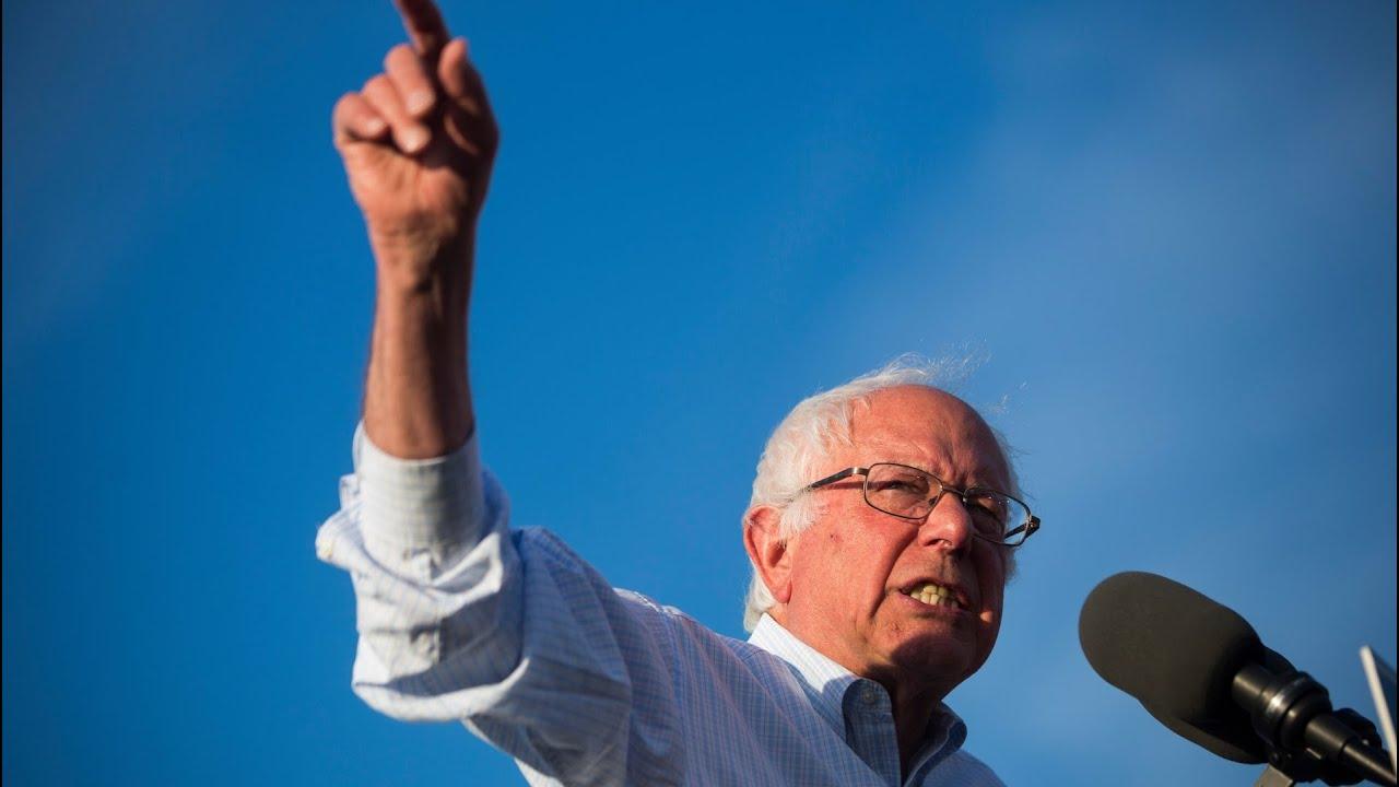 Bernie Sanders hoppar av