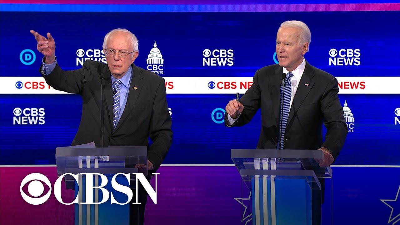 Hur långt har Biden och Sanders kvar till seger?