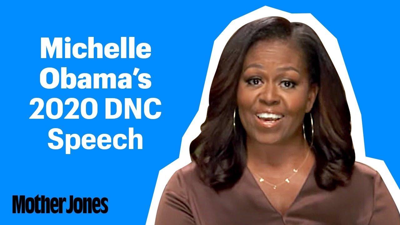 Michelle Obamas tal på konventet