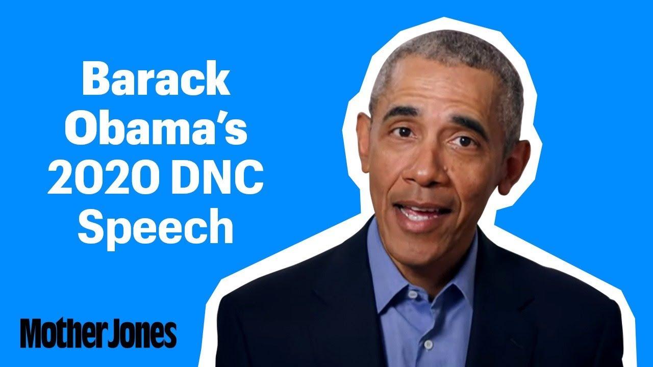 Obamas tal på konventet 2020
