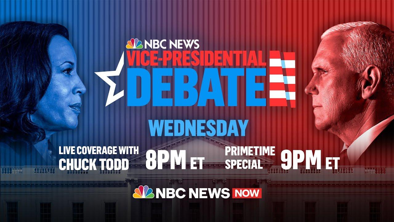 Här kan du se vicepresident-debatten mellan Pence och Harris