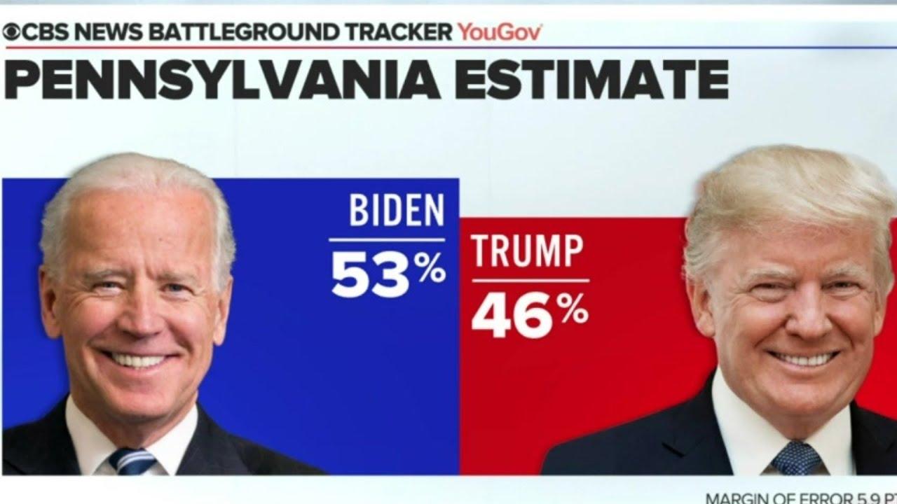 Läget i superviktiga Pennsylvania inför presidentvalet 2020